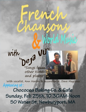 Deja Vu Cafe Chococao Poster Two