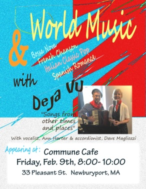 Deja Vu Cafe Commune Poster Feb Flat (1)